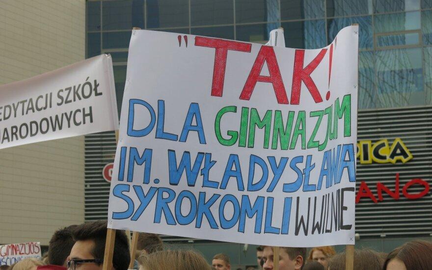 Wiec w obronie szkół 17 marca 2016 roku