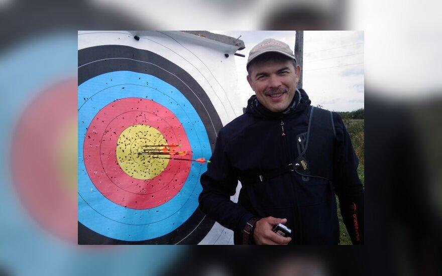 Vladas Šigauskas, šaudymas iš lanko