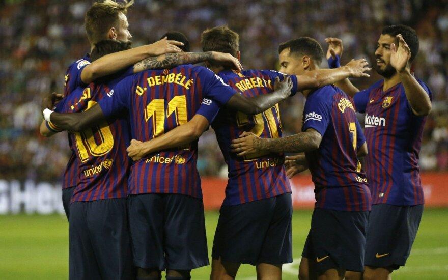 Barcelona futbolininkai