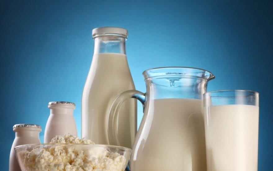 pienas, pieno produktai