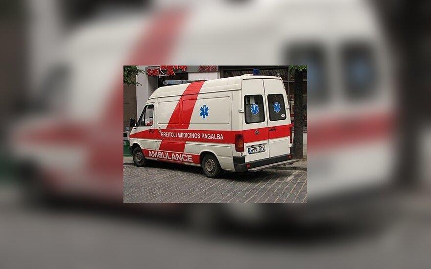 В аварии в Мариямполе пострадал четырехлетний мальчик