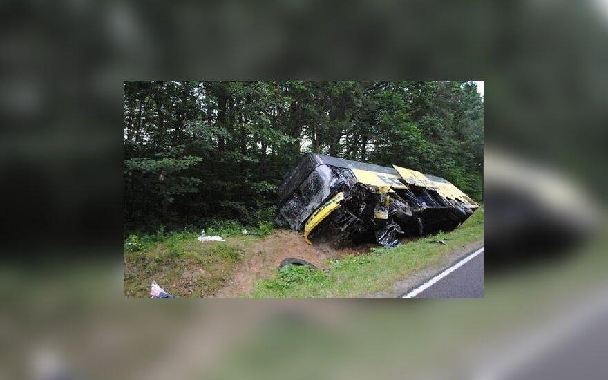 Польша: легковушка столкнулась с автобусом Ecolines, двое погибших