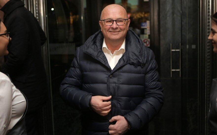 """Visvaldas Matijošaitis """"Vieningo Kauno"""" būstinėje"""