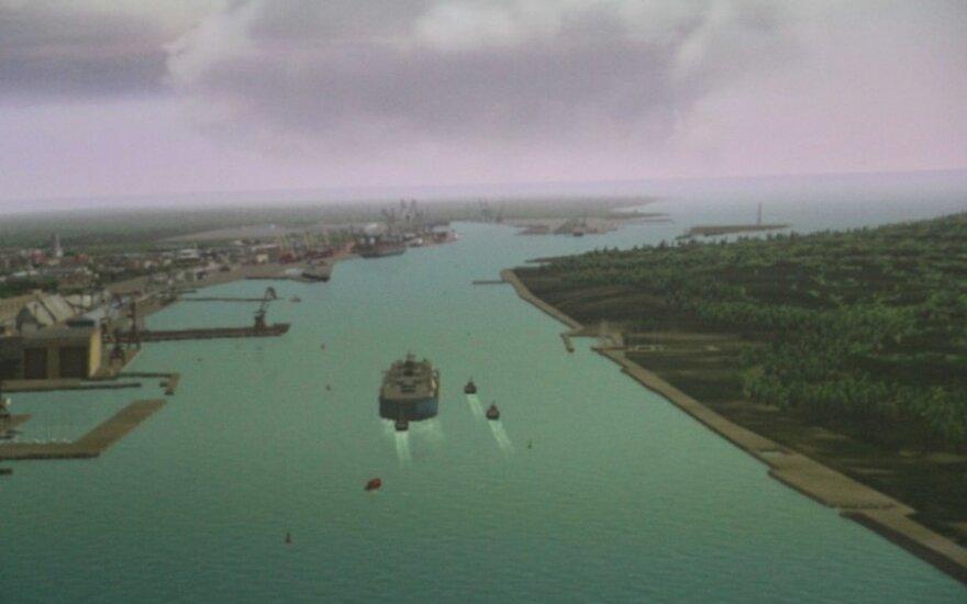 Теоретически судно-терминал СПГ уже вошло в Клайпеду