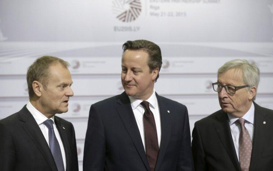 David Cameron przyleci do Warszawy prosić o wsparcie