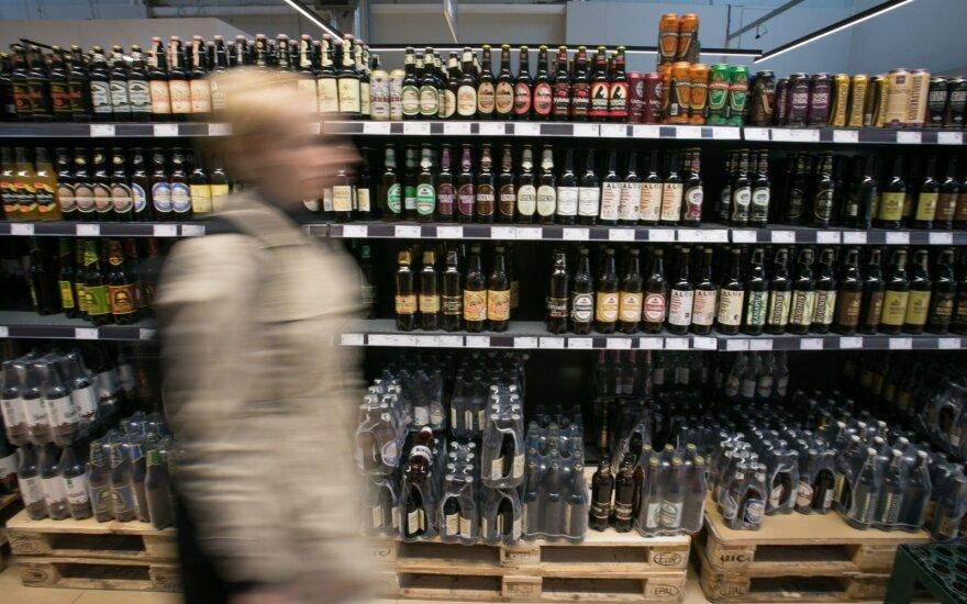 В Литве продажи алкоголя сокращаются, но выводы делать рано