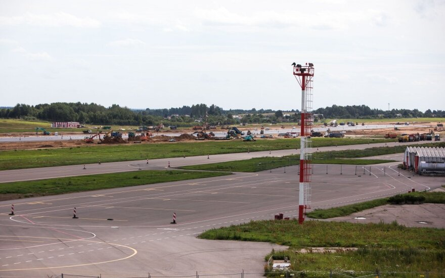 В пятницу начнутся испытания основных систем в аэропорту Вильнюса