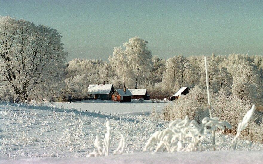 Žiema. 2000 m.