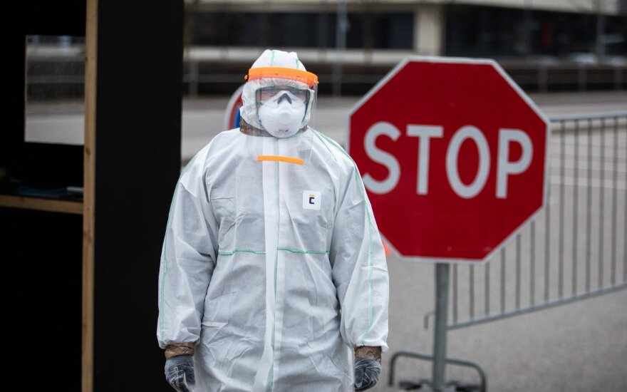 За прошедшие сутки в Литве установили 37 новых случаев коронавируса