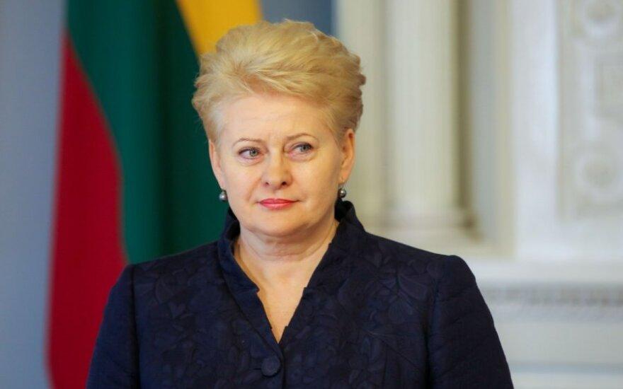 Dalia Grybauskaitė: Członkostwo w UE jest jedną z najlepszych decyzji w historii Litwy