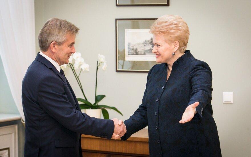 Viktoras Pranckietis, Dalia Grybauskaitė