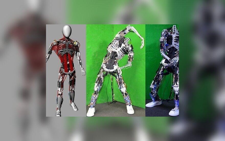 Изобретен человекоподобный робот со 160 мышцами