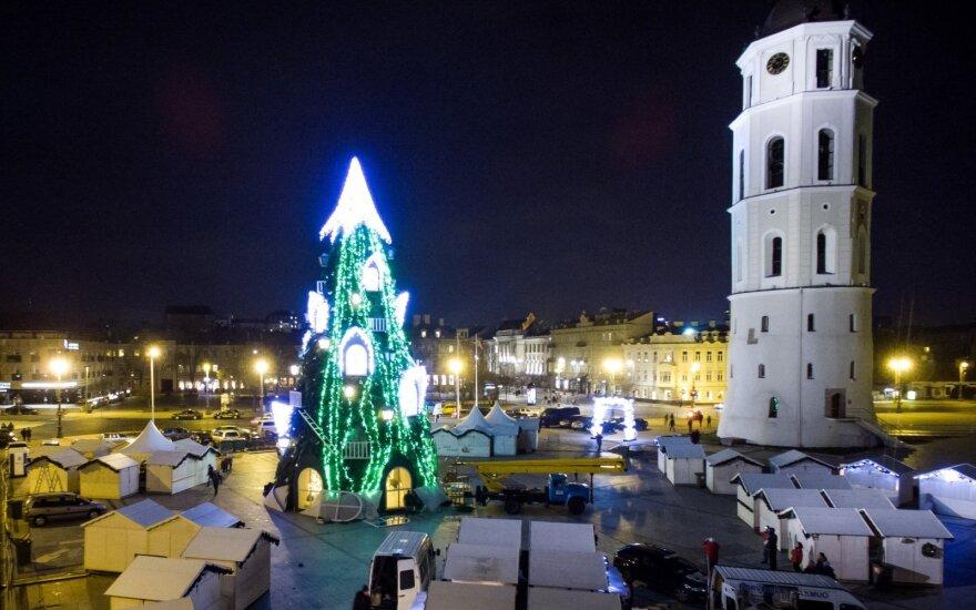 В Вильнюс приходит Рождество