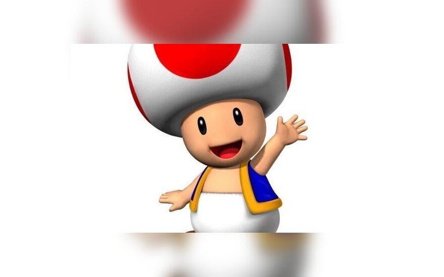 Человекоподобный гриб Тоад