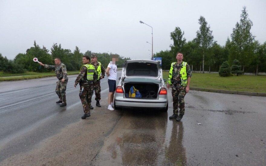 Литовские пограничники задержали четырёх нелегальных мигрантов из Вьетнама