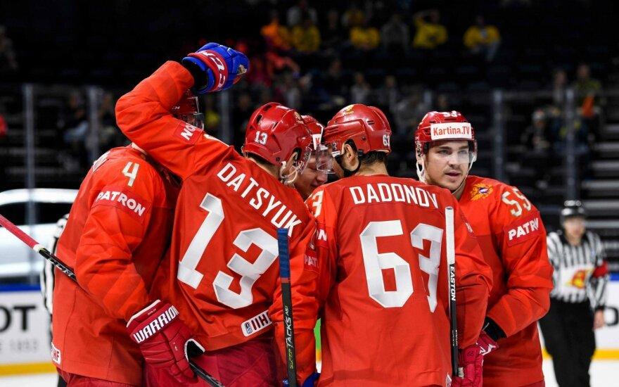 Pasaulio ledo ritulio čempionatas, Rusija - Baltarusija