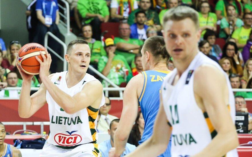 Europos krepšinio čempionatas 2015. Lietuva - Ukraina