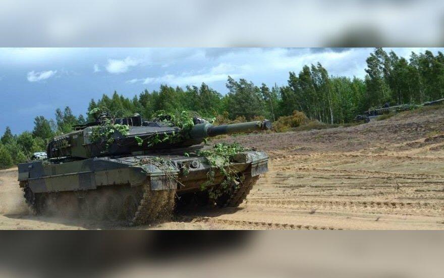 Бундесвер вернет в строй сто списанных танков