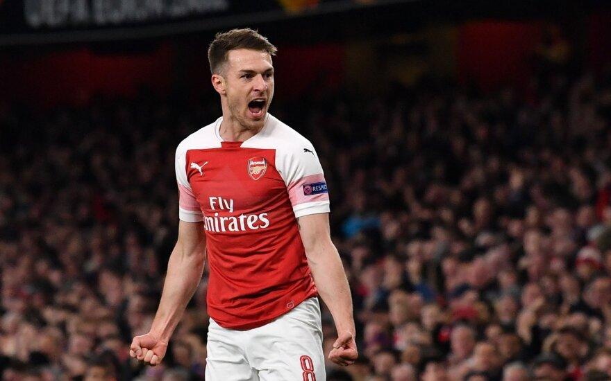"""UEFA Europos lygos ketvirtfinalis: """"Arsenal"""" - """"Napoli"""""""