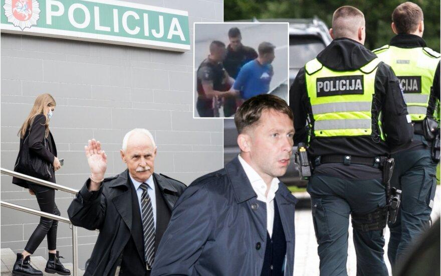 E. Dragūnas – policijos komisariate