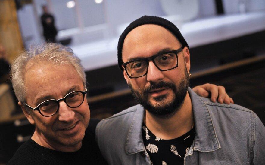 Kirilas Serebrenikovas (dešinėje)