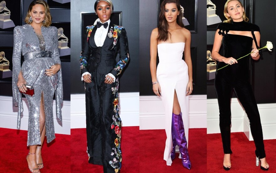 ФОТО: Декольте и модные провалы премии Grammy 2018