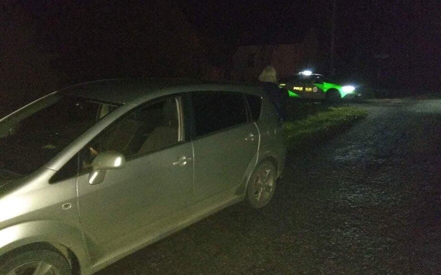 В Клайпедском районе за рулем попался нетрезвый священник