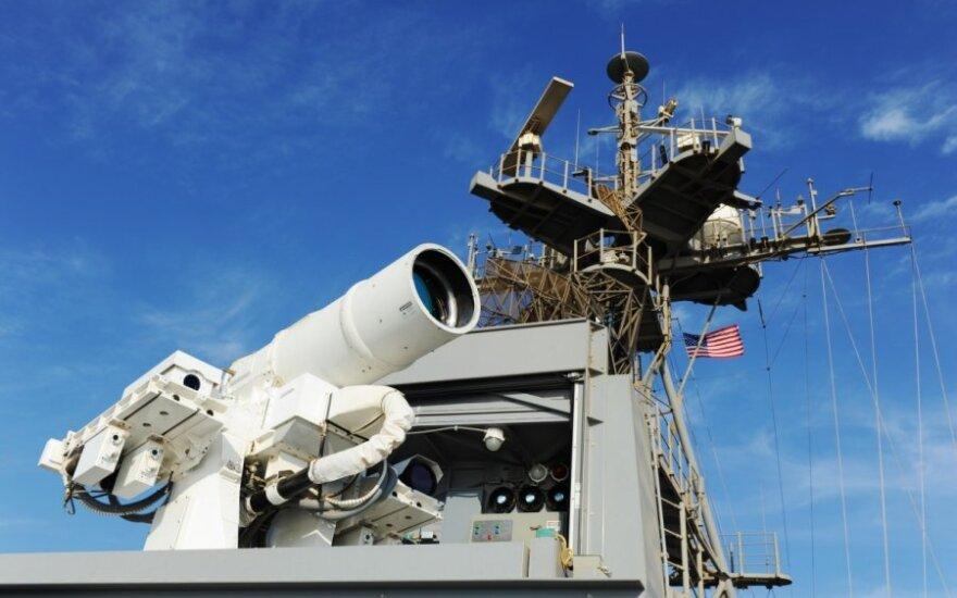 US Navy z bronią laserową?