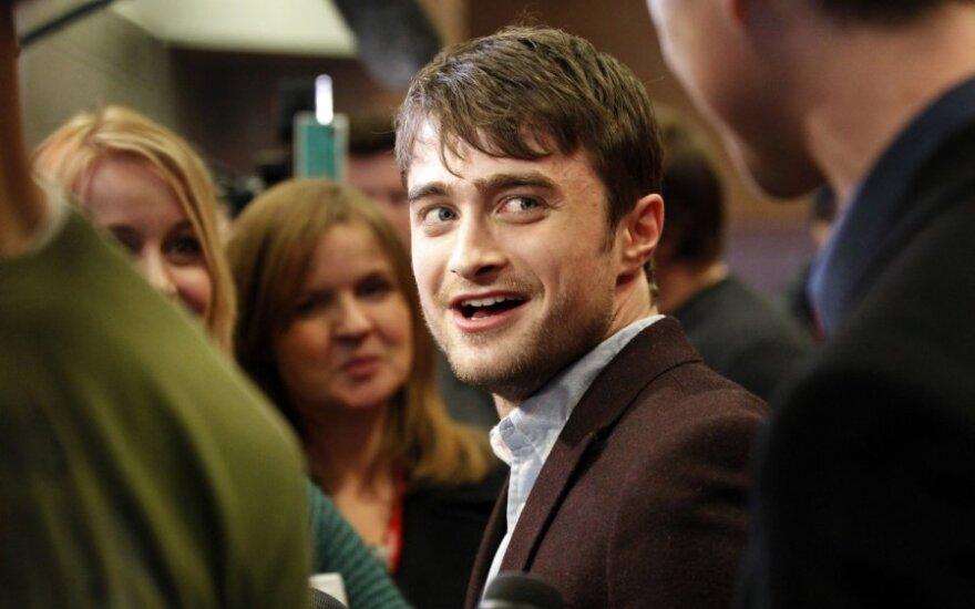 Daniel Radcliffe w łóżku z mężczyzną