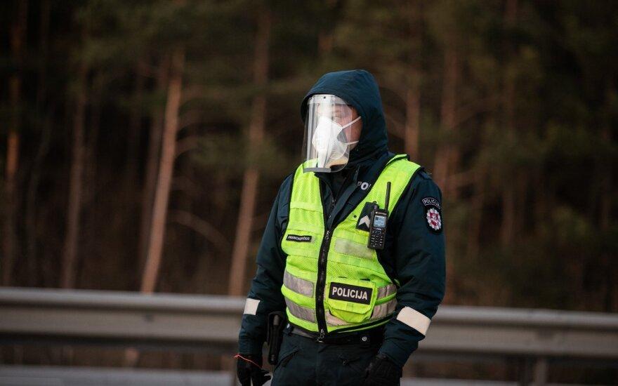 За нарушения карантина за сутки в Литве оштрафованы 58 человек