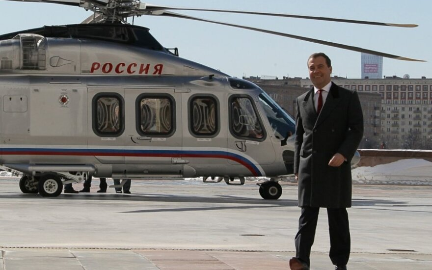 D.Medvedevo sraigtasparnis
