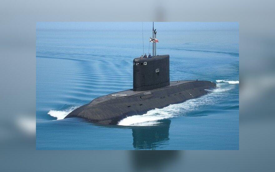 В Петербурге спустили на воду новую подлодку для ЧФ России