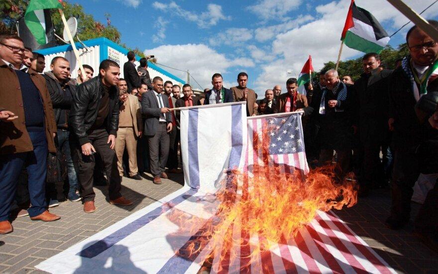 ХАМАС призывает к интифаде в ответ на решение Трампа о статусе Иерусалима