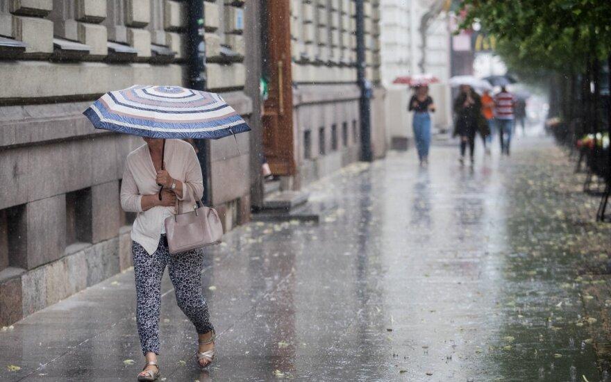 Погода: после дождей снова придет тепло