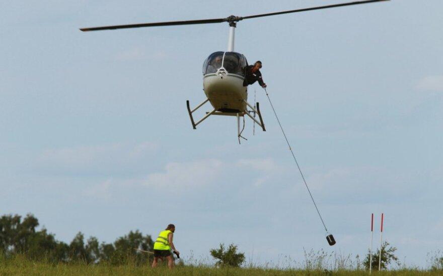 """""""Robinson R44"""" tipo sraigtasparnis"""