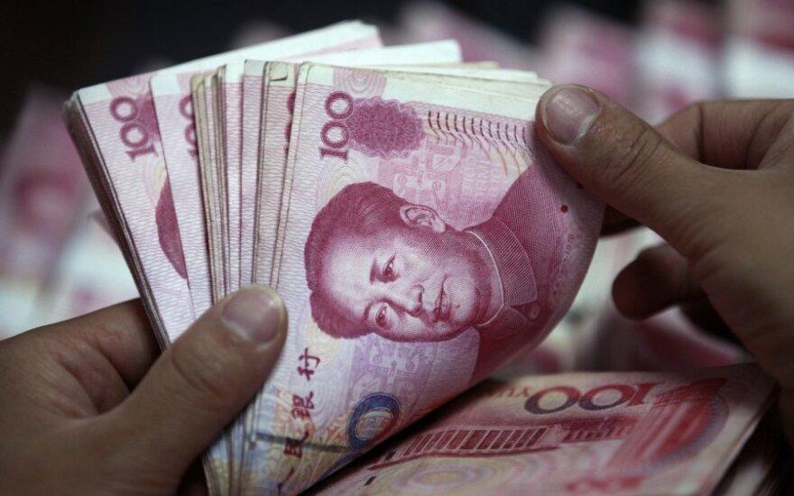 Китайский юань упал до четырехлетнего минимума