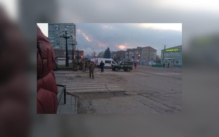 При взрыве на складе боеприпасов под Харьковом погибла женщина