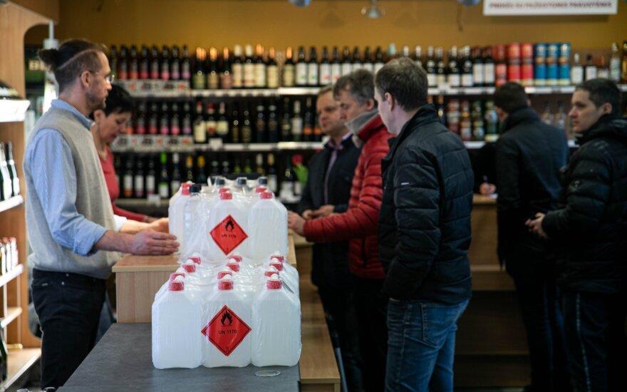 Антисептик в Литве: от дефицита до избытка