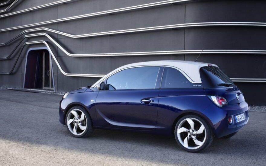 Стильный Opel Adam представлен официально