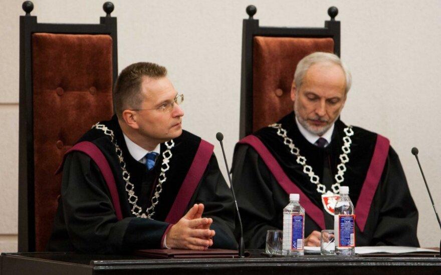 КС: результаты выборов в Зарасайско-Висагинском округе аннулированы законно