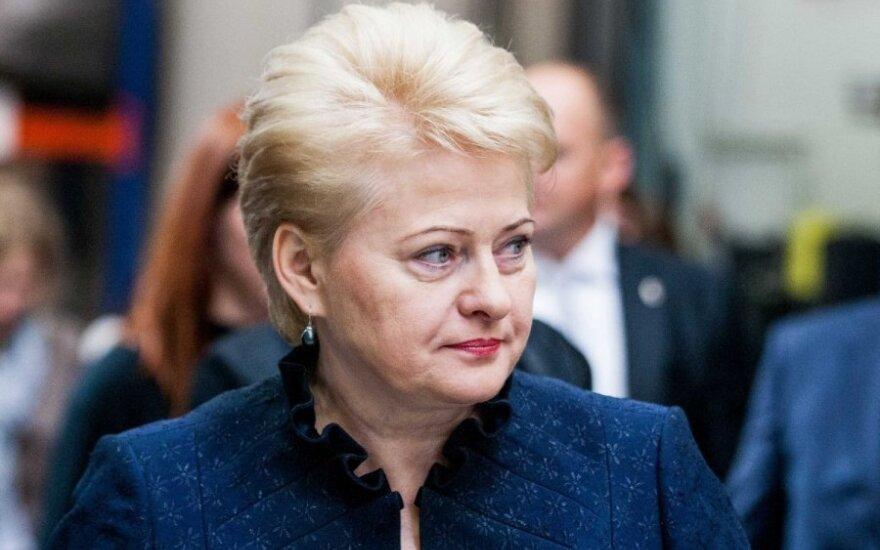 Грибаускайте: о действиях ССР против журналистов