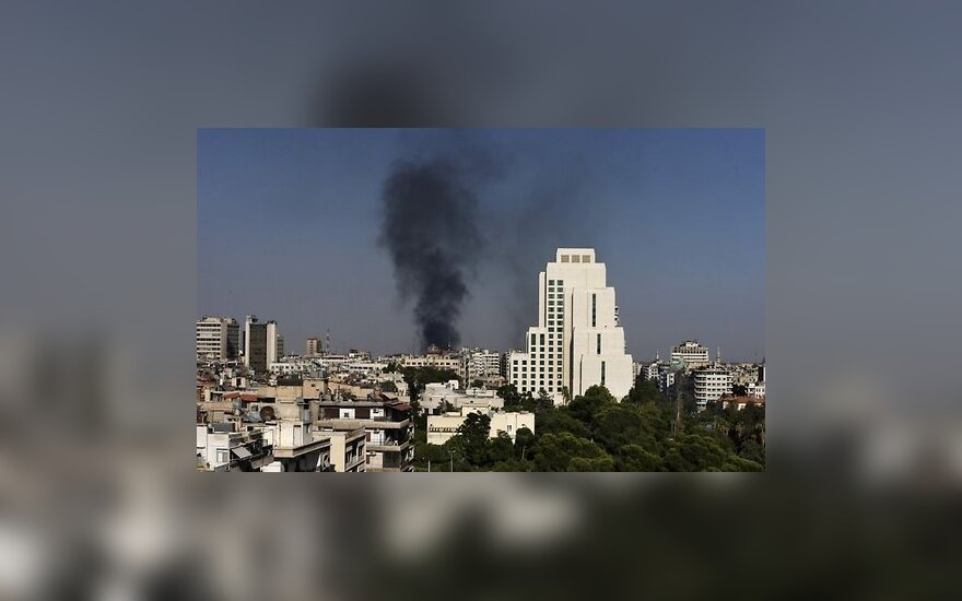 МИД РФ сообщил об обстреле российского посольства в Сирии
