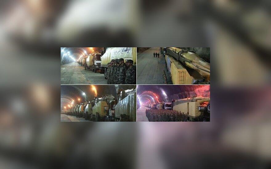 Иран показал подземные заводы по производству ракет