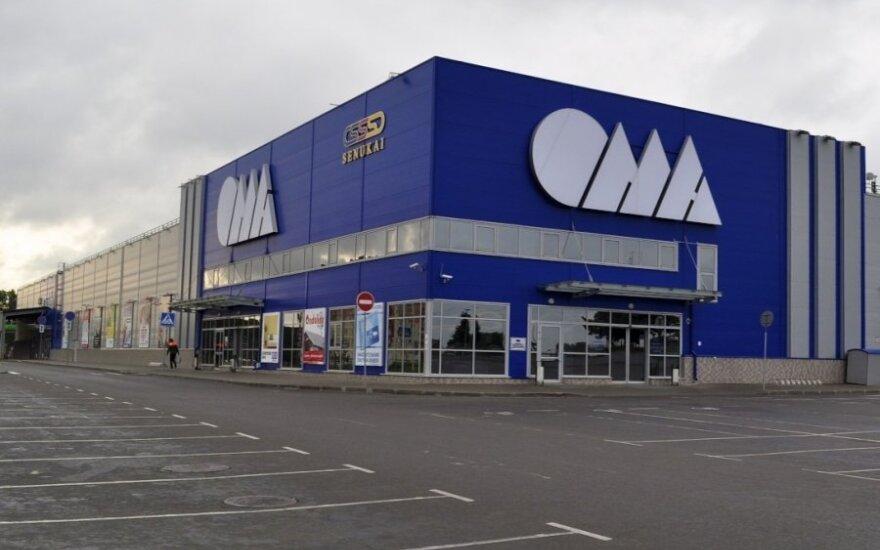 """Prekybos tinklas """"Oma"""" Baltarusijoje"""