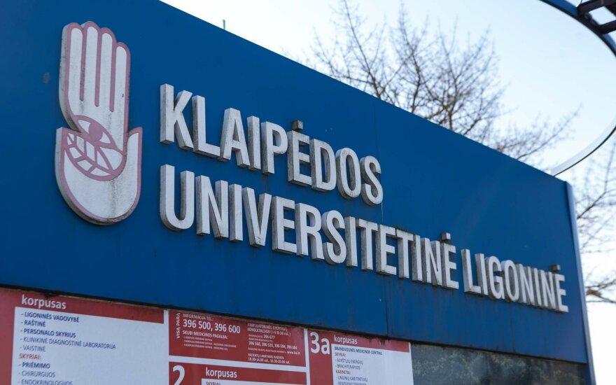 Предложат отстранить главу Клайпедской университетской больницы: пора взять на себя ответственность