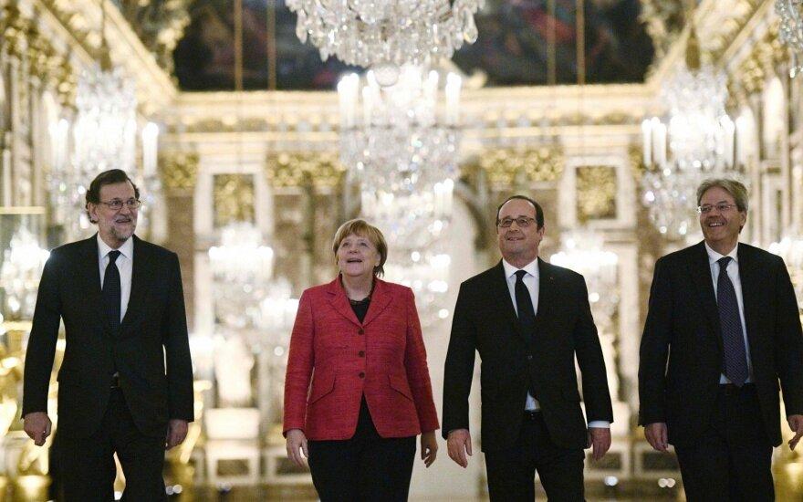 """Париж и Берлин выступили в поддержку """"Европы разных скоростей"""""""