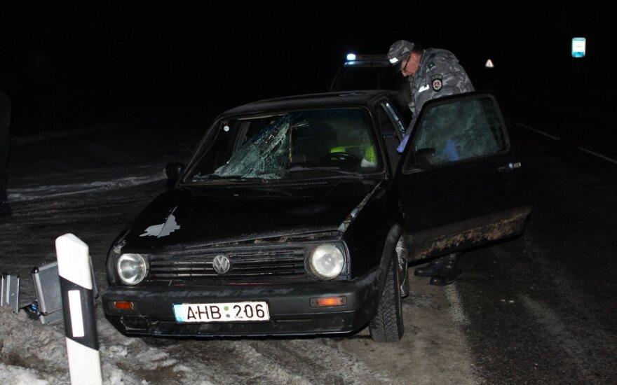 В Вильнюсском районе нетрезвый водитель насмерть сбил женщину
