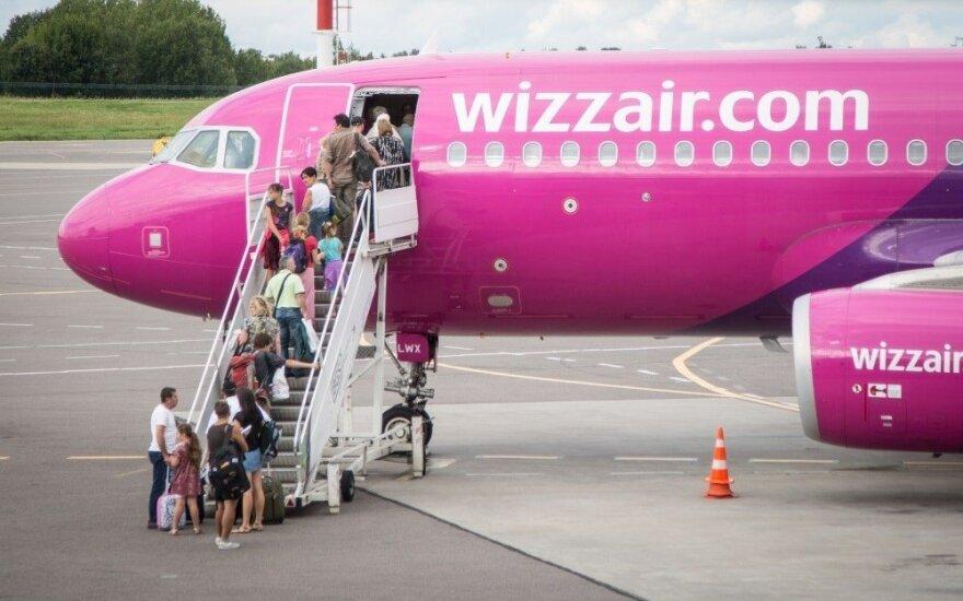 Wizz Air будет летать из Вильнюса во Львов