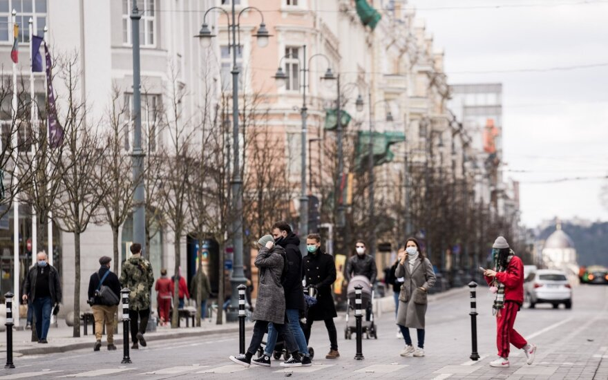 За сутки в Литве установили 12 новых случаев коронавируса