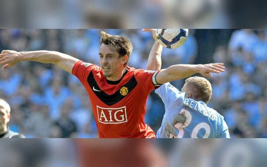 """Gary Neville'as (""""Manchester United"""")"""